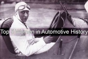 Top 5 Women in Automotive History