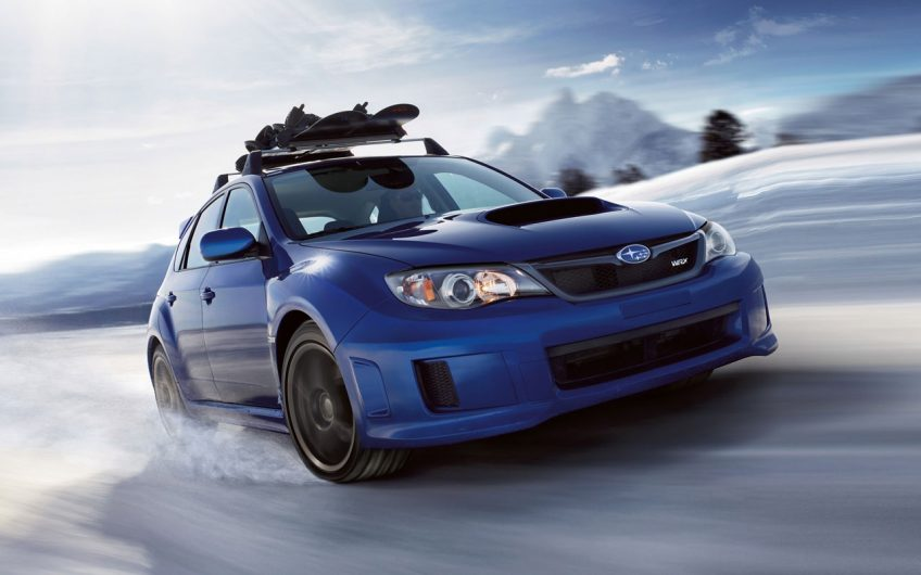 Subaru WRX Takes on Downhill Bobsled Track