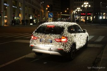 Article: How to decorate your vehicle with Christmas lights